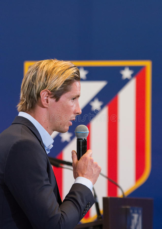 Fernando Torres stockfotografie