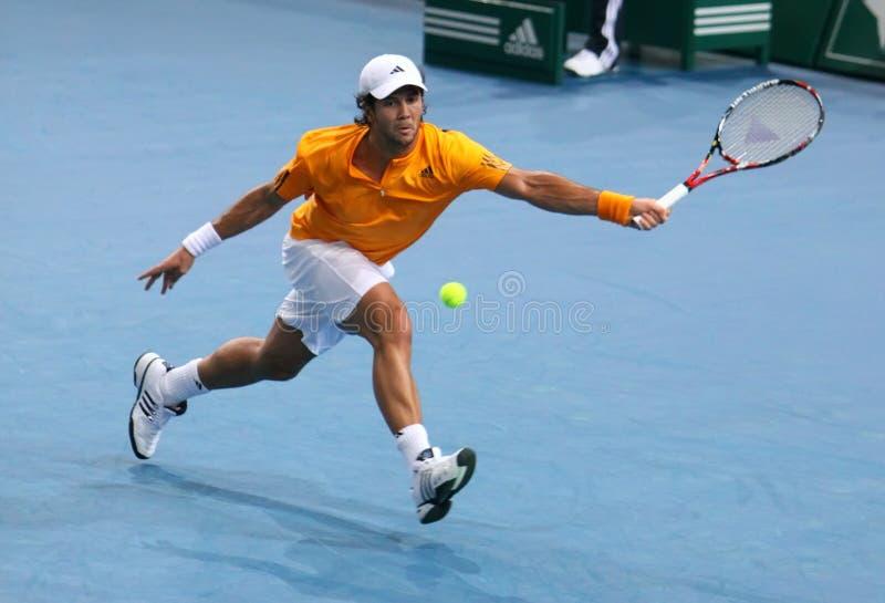 Download Fernando VERDASCO (ESP) At BNP Masters 2009 Editorial Stock Photo - Image: 11798633