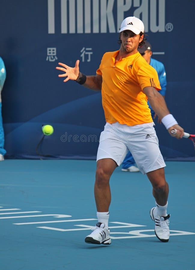 Fernando Verdasco (ESP), jogador de ténis fotos de stock
