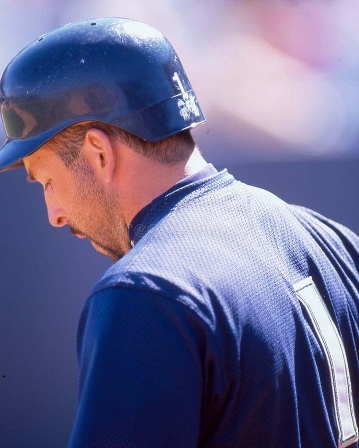 Fernando Vina, Milwaukee Brewers stockfotos