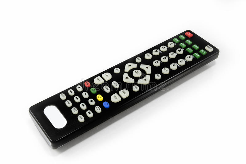 Fernbedienung Fernsehen lizenzfreies stockbild