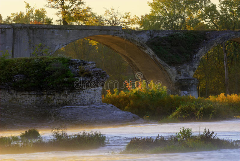 Fernbrücke stockfoto