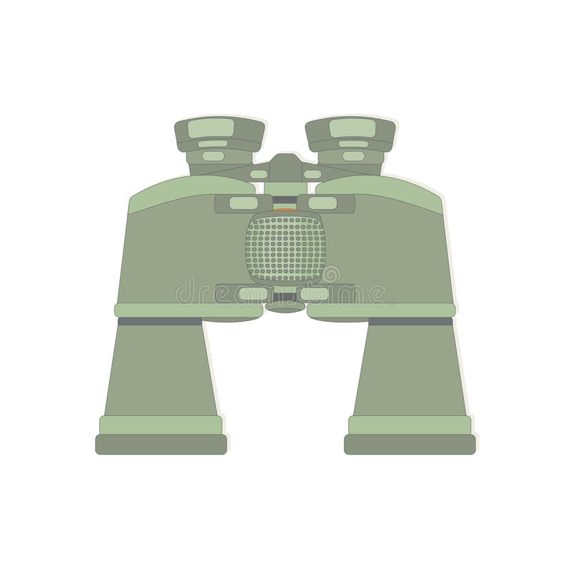 Ferngläser mit Zoom vektor abbildung