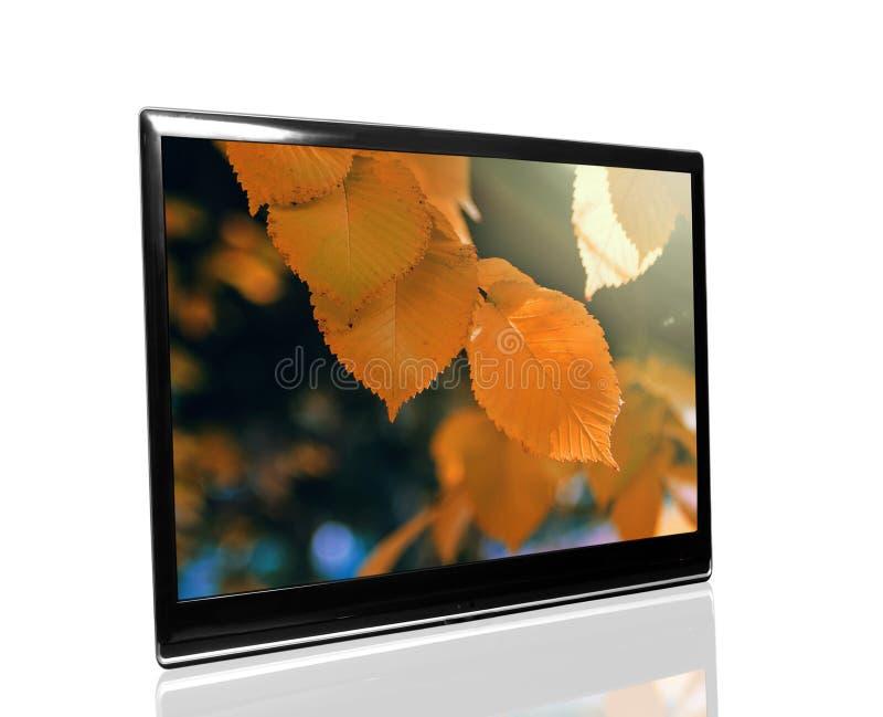 Fernsehapparat überwachen lizenzfreies stockfoto