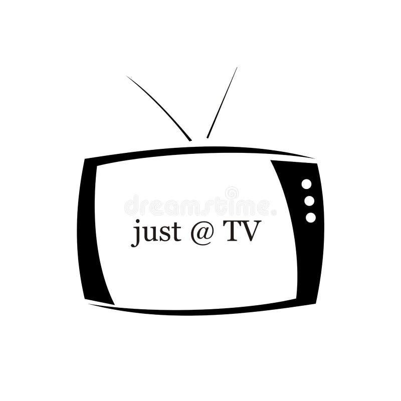 Fernsehen lizenzfreie abbildung