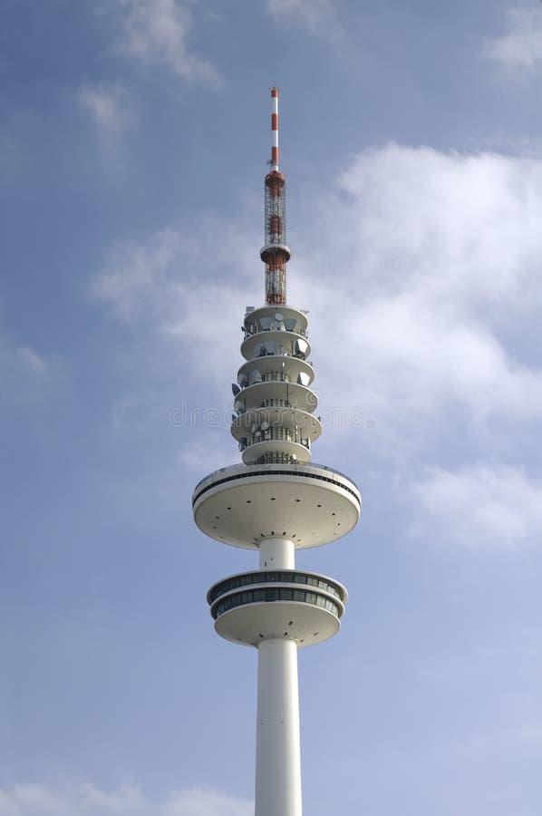 Fernsehenkontrollturm in Hamburg, lizenzfreie stockbilder