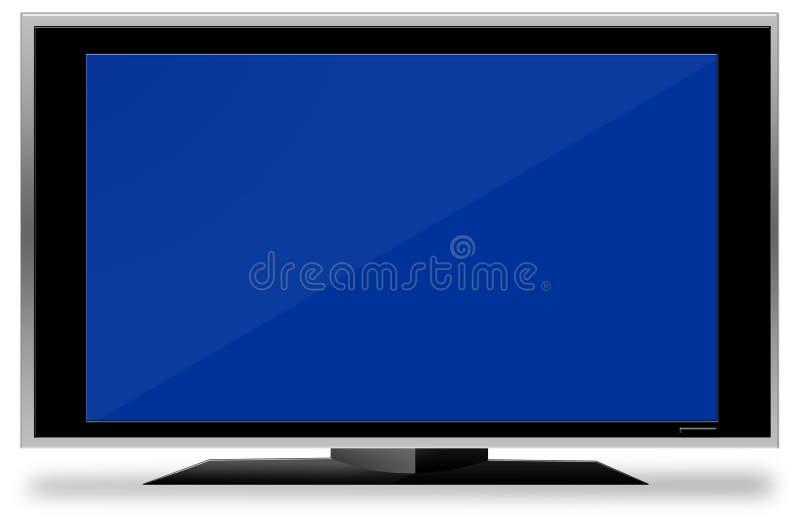 Fernsehgroßer Bildschirm stockbilder
