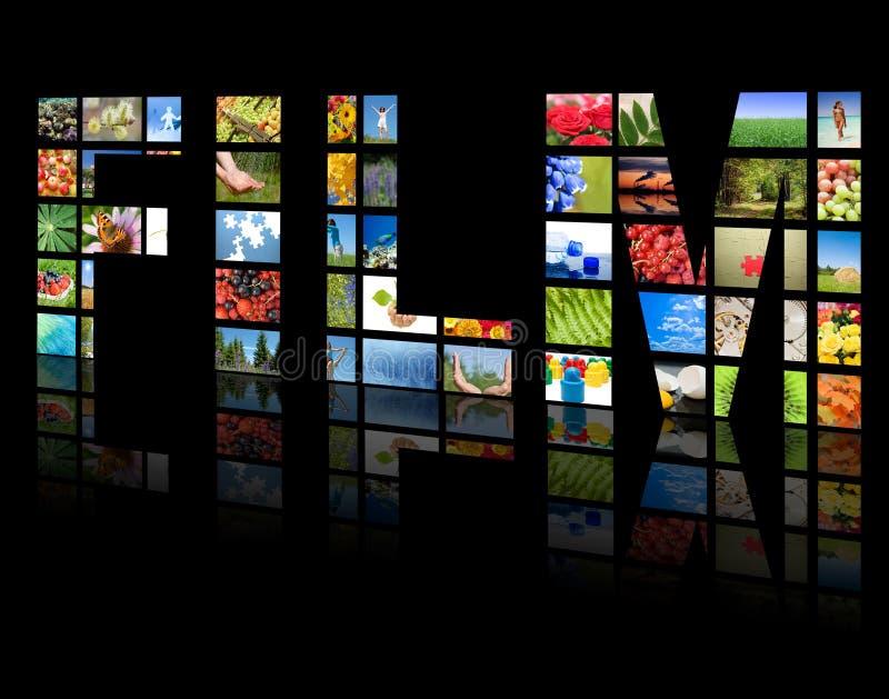 Fernsehpanels. Fernsehenproduktion lizenzfreies stockfoto