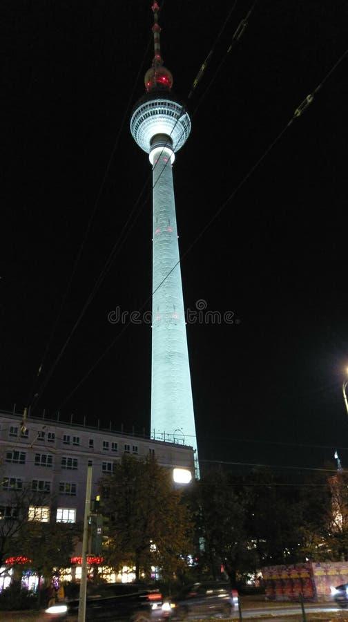 Fernsehturm стоковое изображение