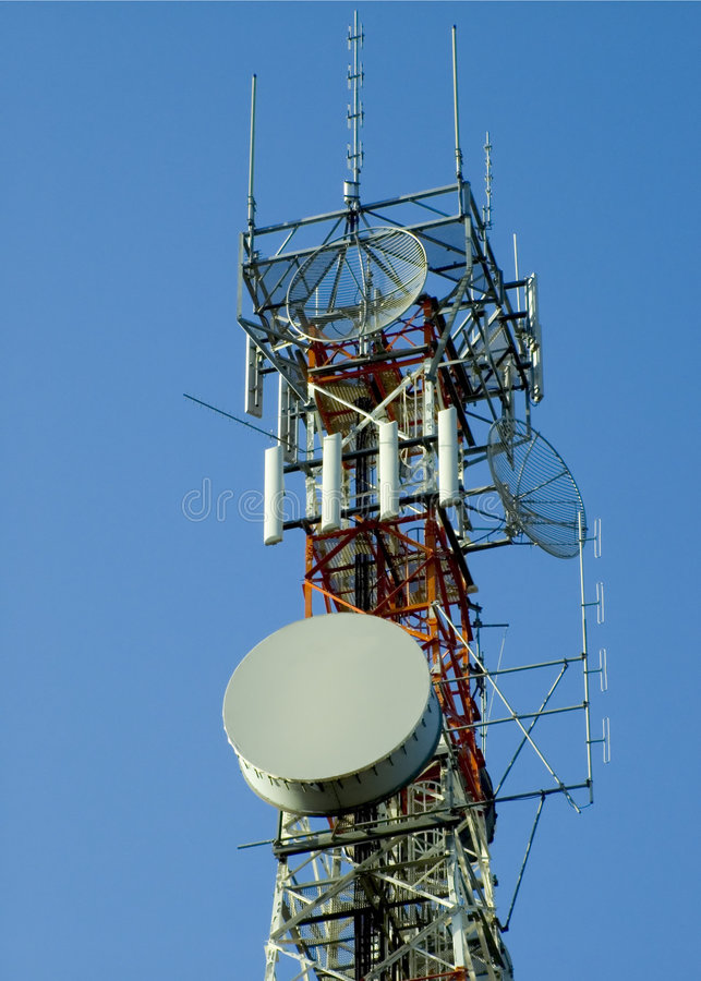 Download Fernsehturm stockfoto. Bild von erwähnung, link, kommunion - 33620