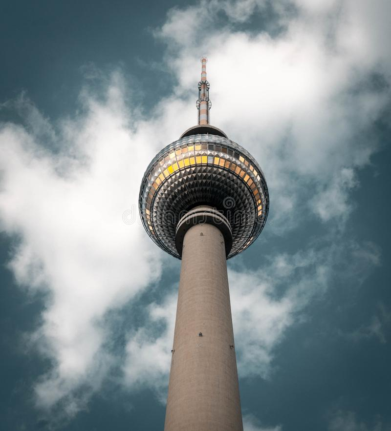 Fernsehturm Alexander Platz, Berlín, Alemania foto de archivo