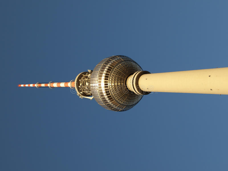 fernsehturm berlin стоковое фото