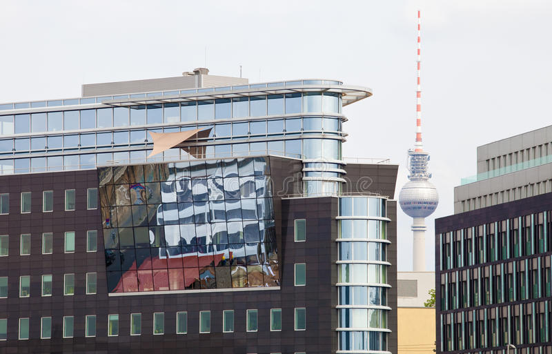 Download Fernsehturm in Berlin stock photo. Image of place, life - 14476708