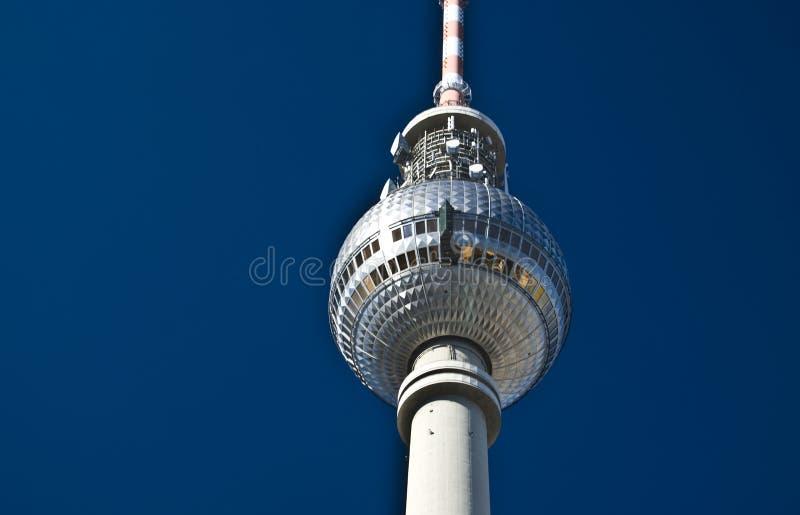 fernsehturm berlin стоковое изображение