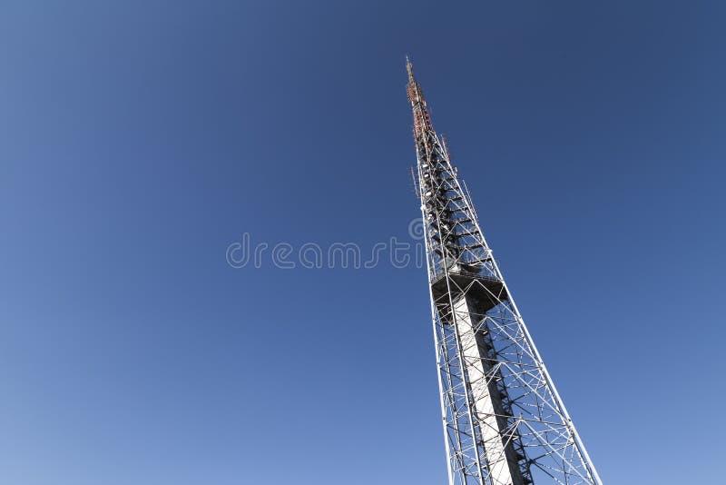 Fernsehturm in BrasÃlia/DF/Brazil Es ` s über Telekommunikation lizenzfreie stockfotografie