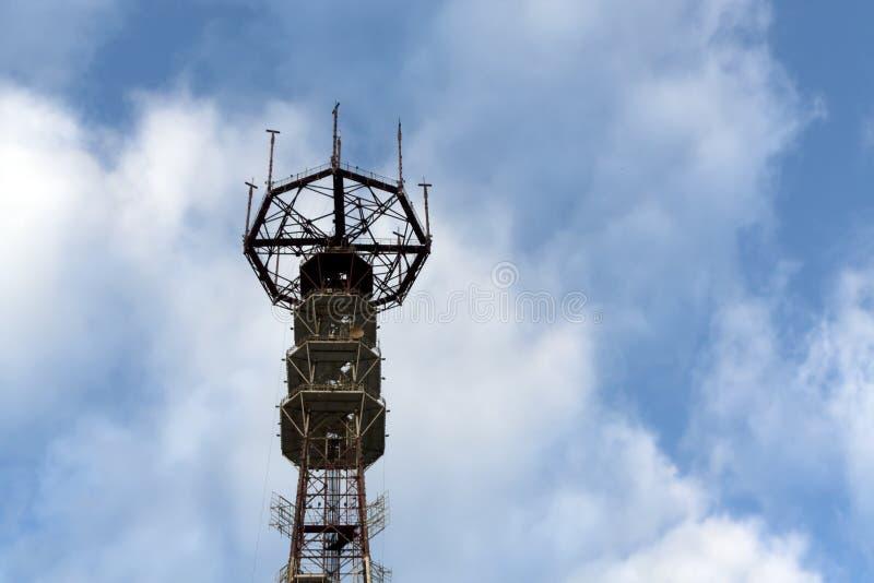 Fernsehturm in Minsk, Weißrussland stockbilder