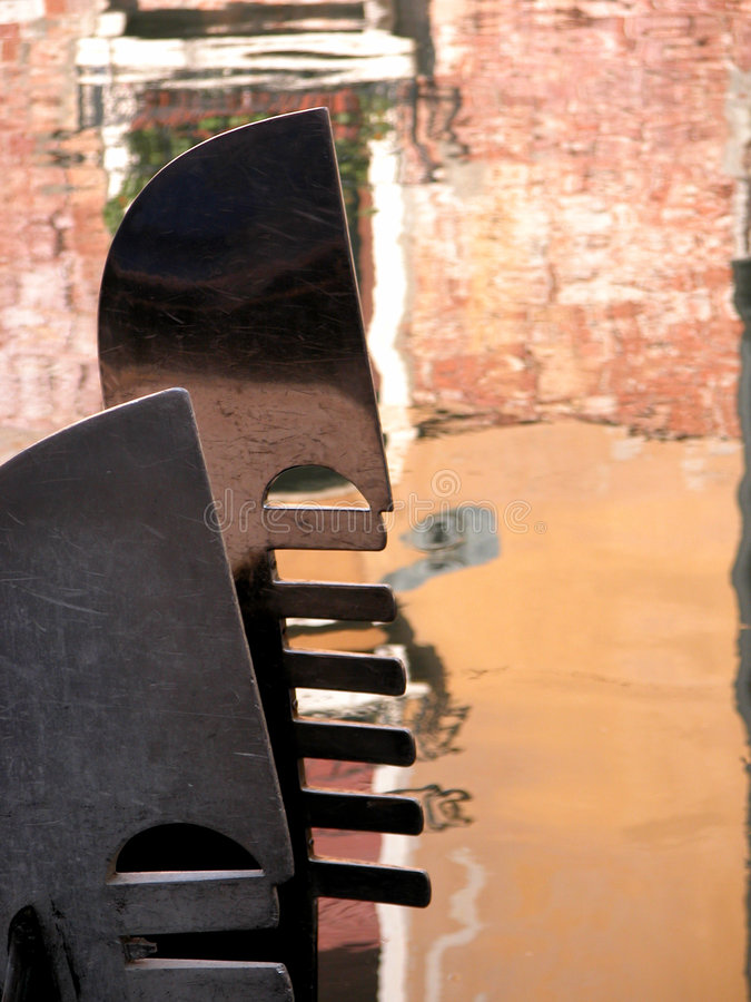 Download Fero da prova stock image. Image of bridge, gondola, ripples - 21437