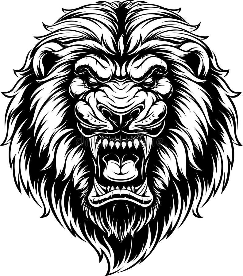 Free Ferocious Lion Head Stock Photos - 144748523
