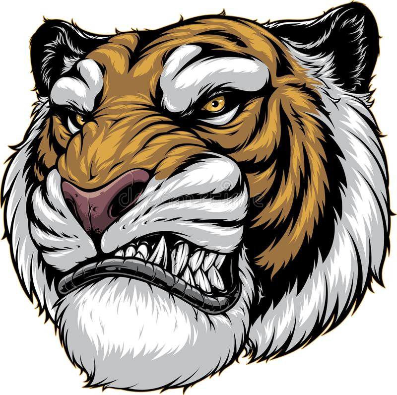Free Ferocious Tiger Roars Royalty Free Stock Photos - 153722228