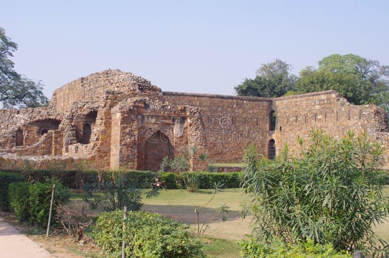 Feroz Shah Kotla, Νέο Δελχί στοκ εικόνες