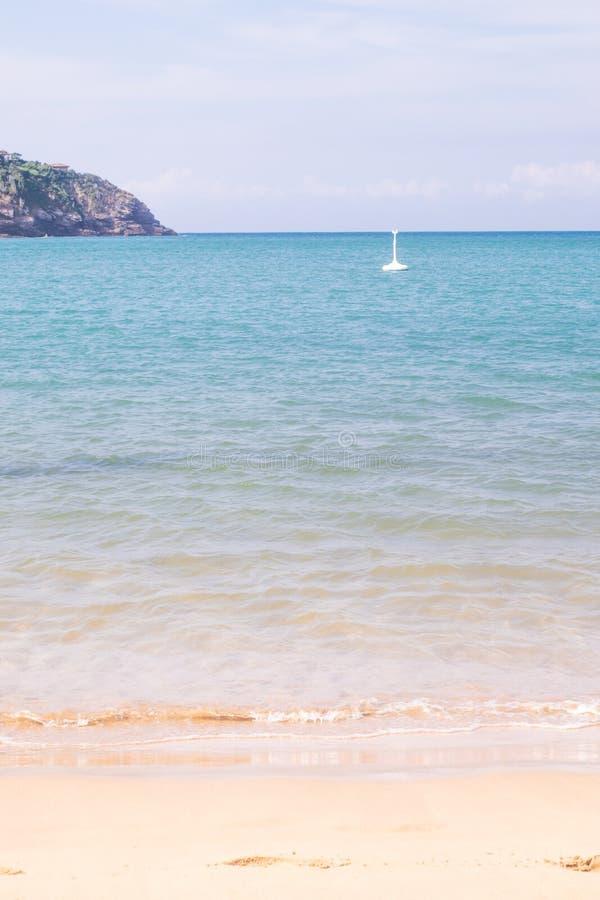 Ferradura海滩在Buzios 库存图片