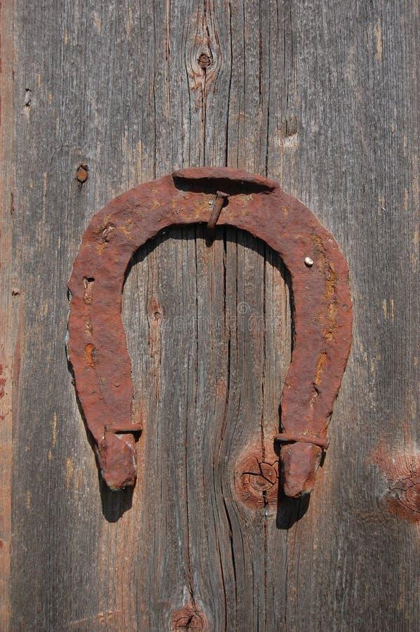 Ferradura. Casa abandonada da exploração agrícola. fotografia de stock
