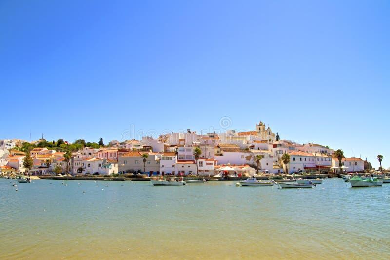 ferragudo葡萄牙村庄 免版税库存图片