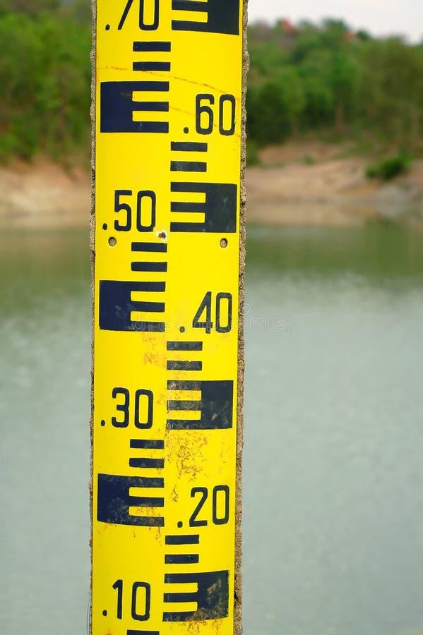 Ferramenta da medida do nível de água foto de stock