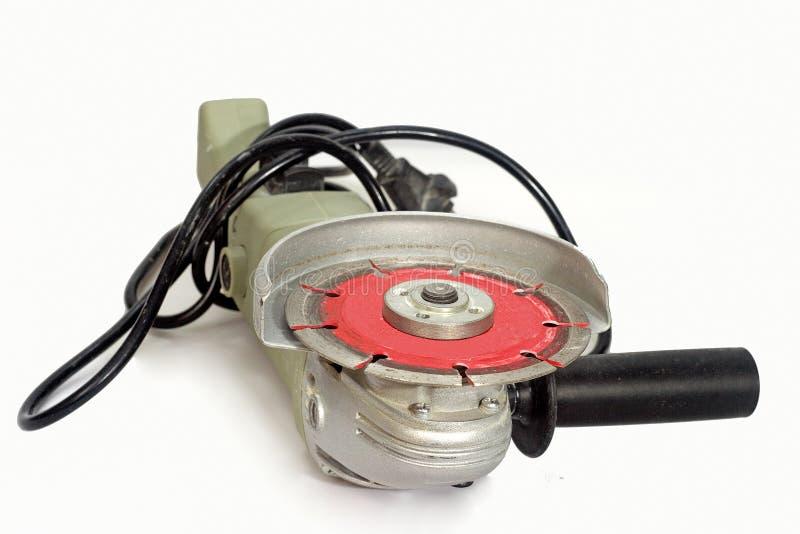 Ferramenta do cortador da mão elétrica fotografia de stock royalty free