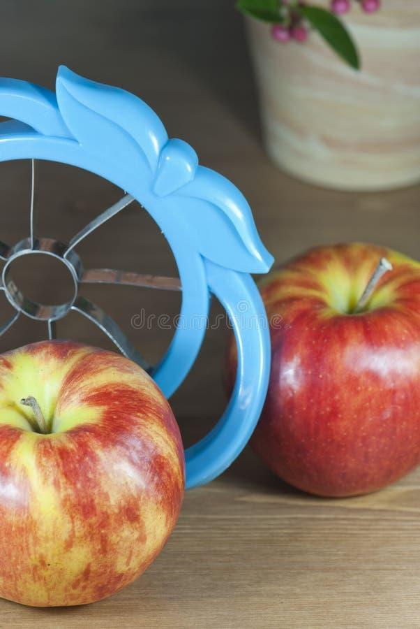 Ferramenta do cortador de Apple imagem de stock