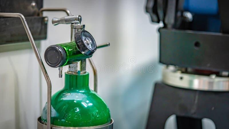 Ferramenta do instrumento da válvula de gás do laboratório fotografia de stock royalty free