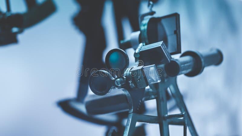 Ferramenta industrial da câmera da visão por computador fotografia de stock