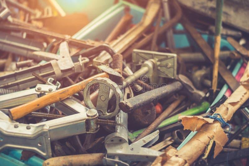Ferramenta mecânica em caixa imagem de stock
