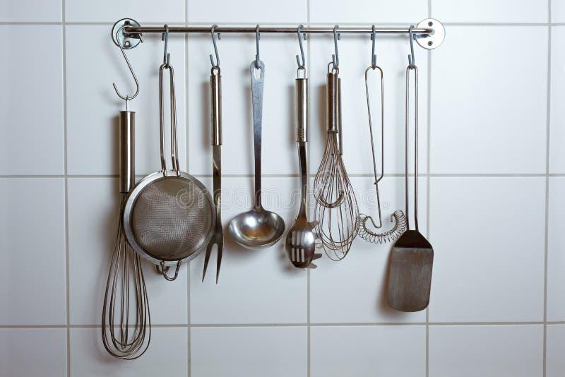 Ferramentas da cozinha fotografia de stock royalty free