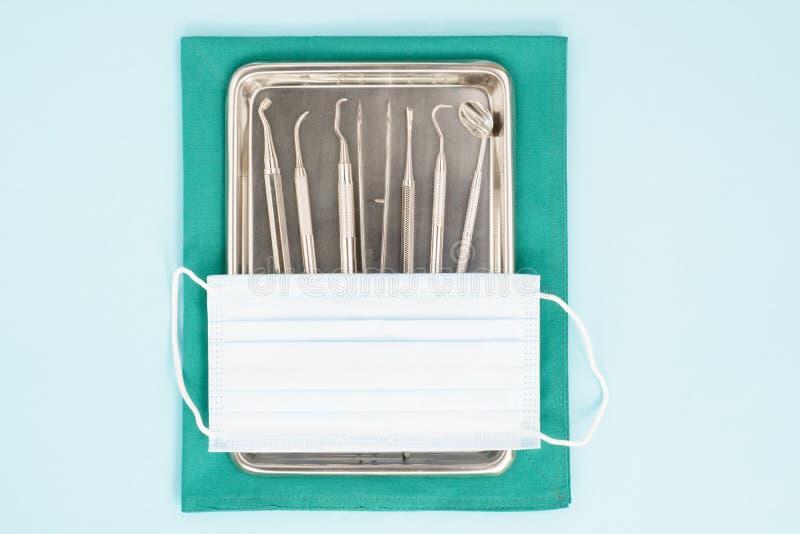 Ferramentas dentais foto de stock
