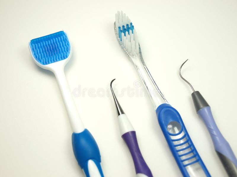 Ferramentas dentais da saúde fotos de stock