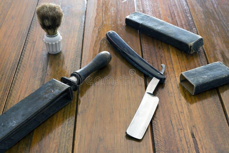 Ferramentas do barbeiro fotografia de stock royalty free