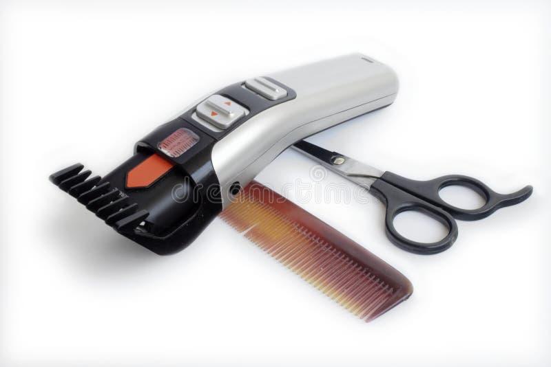 Ferramentas do cabeleireiro. fotografia de stock royalty free