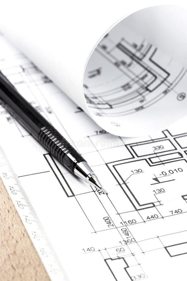 Download Tração E Instrumentos Da Arquitetura Imagem de Stock - Imagem de idéia, melhoria: 29828767