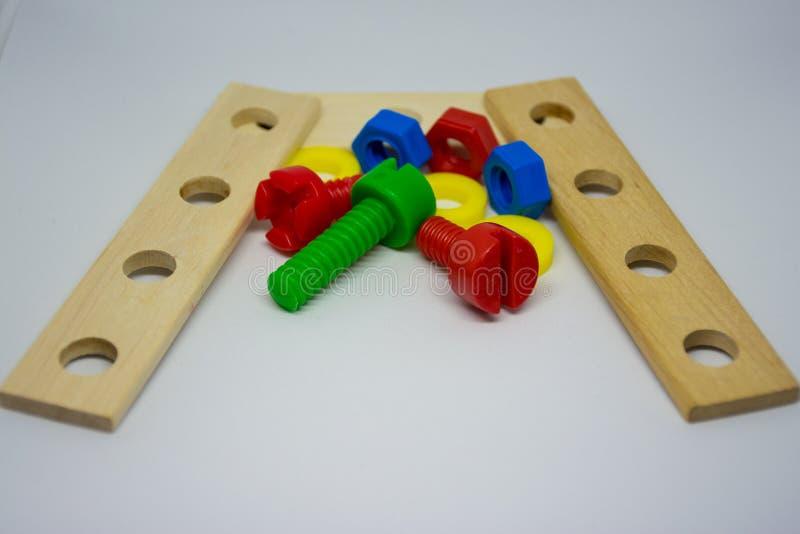 Ferramentas dos brinquedos das crianças imagens de stock royalty free