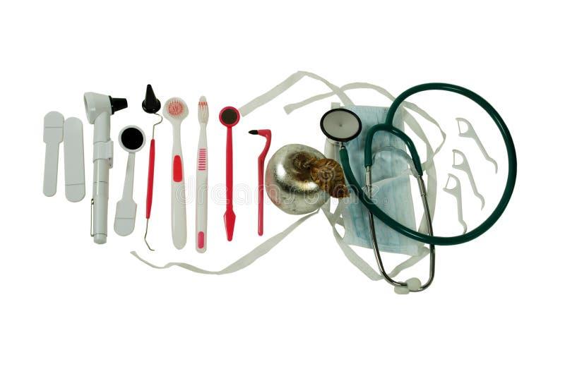 Ferramentas médicas imagens de stock
