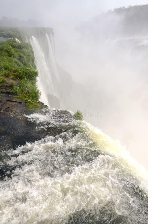 Ferramentas para a cachoeira Iguacuwalls fotografia de stock royalty free