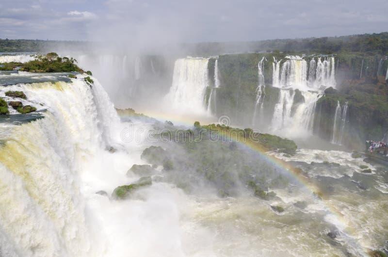 Ferramentas para a cachoeira Iguacuwalls foto de stock royalty free