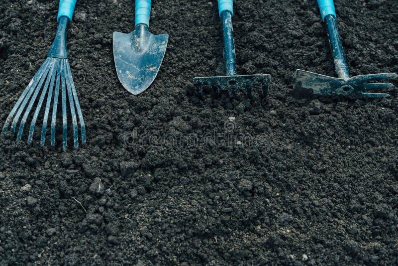Ferramentas para jardinar imagens de stock royalty free