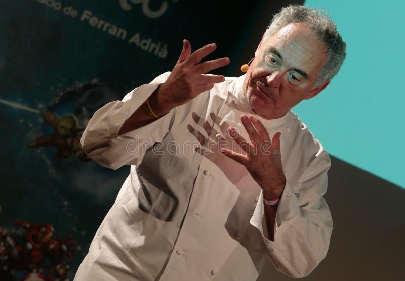 Ferran Adria 013 royalty-vrije stock foto's