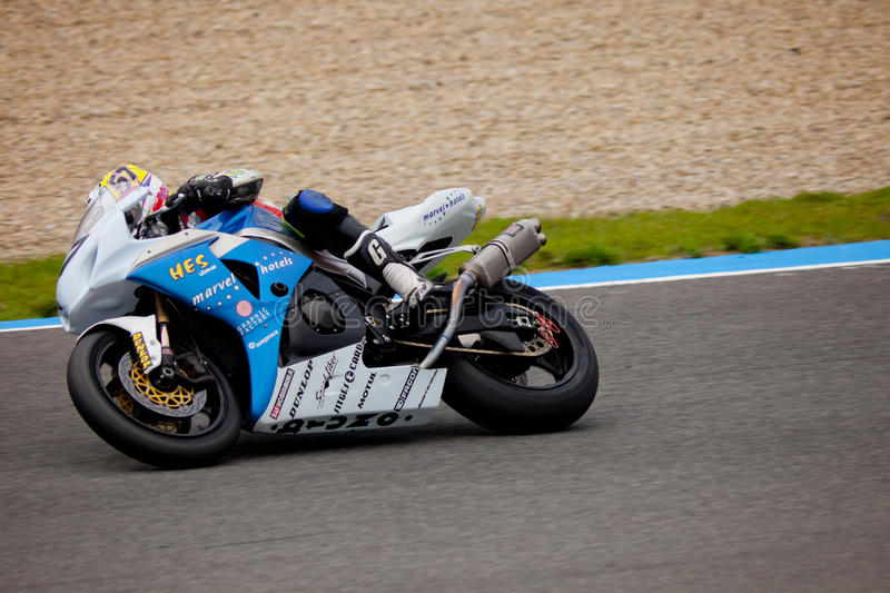 Ferran Casas pilot of Stock Extreme in the CEV stock images