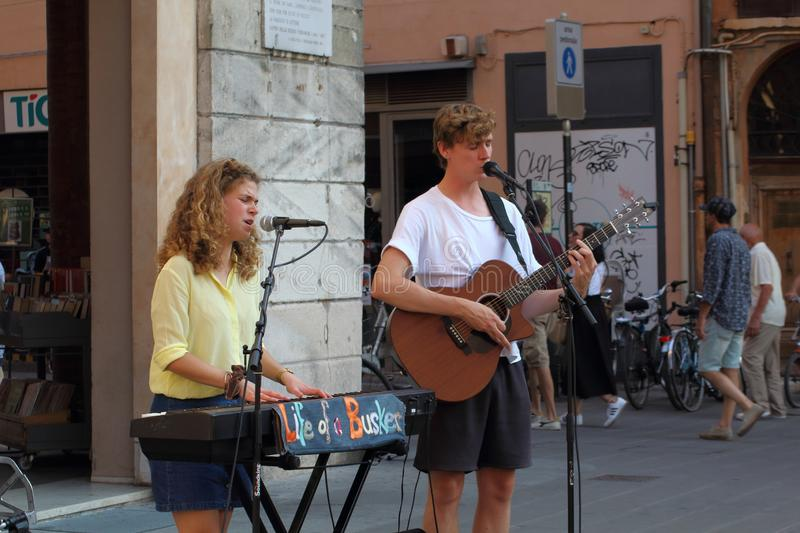 The Ferrara Buskers Festival, from august 24 to 1 september,  is dedicated to the art of the stock photography