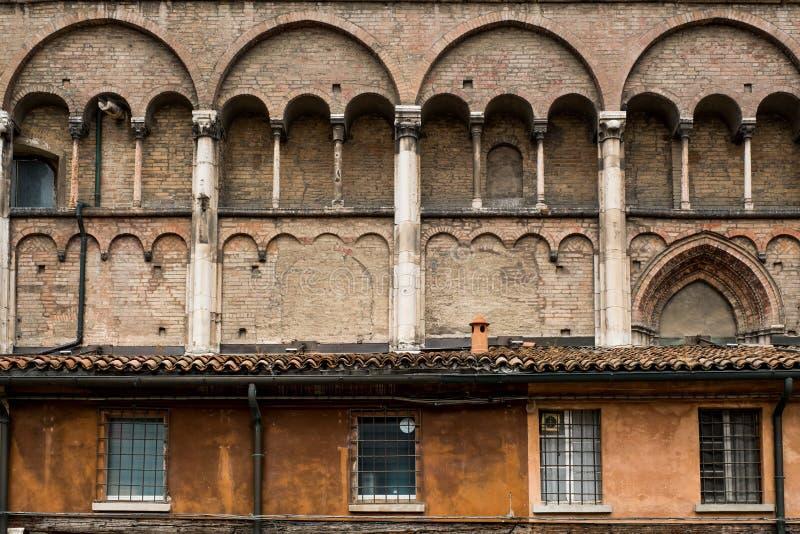 Ferrara, Emilia-Romagna, Italia imagenes de archivo