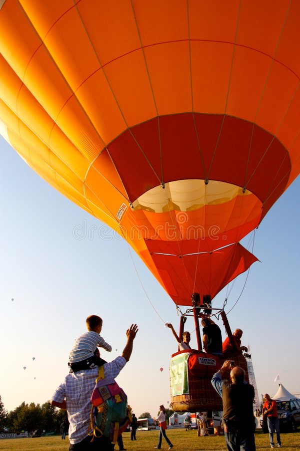 Download Ferrara Hot Air Balloons Festival 2008 Editorial Stock Photo - Image: 6474133