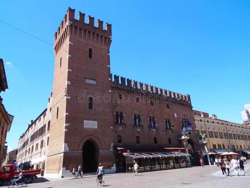Ferrara, Italië royalty-vrije stock foto's
